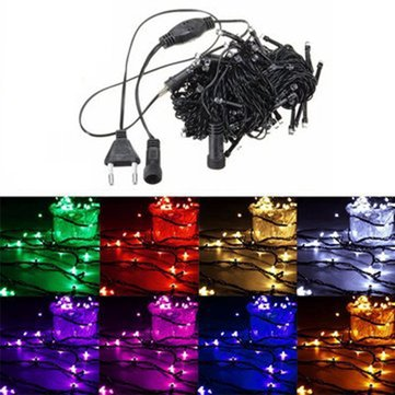 Buy 10M 100 LED String Fairy Light Outdoor Christmas Xmas Wedding Party Lamp 220V for $6.78 in Banggood store