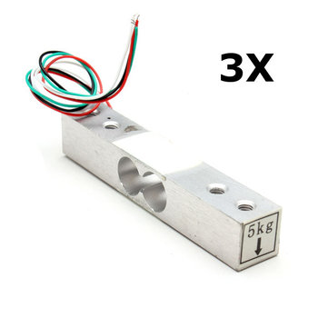 3Pcs YZC-133 5kg Kitchen Scale Electronic Load Cell Weighing Sensor