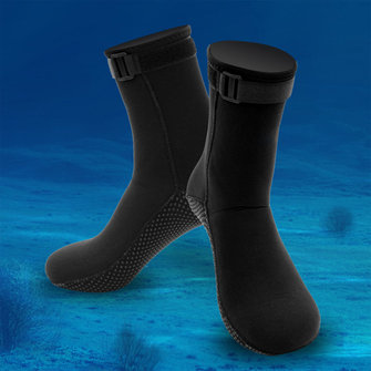 Men 3mm Neoprene Socks Outdoor Diving Sports Sock
