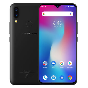 UMIDIGI Power Helio P35 2.3GHz 8コア BLACK(ブラック)