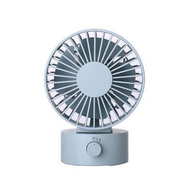 4 Inch Portable Mini Fan USB Cooler Cooling Fan Silent Adjustable Fan