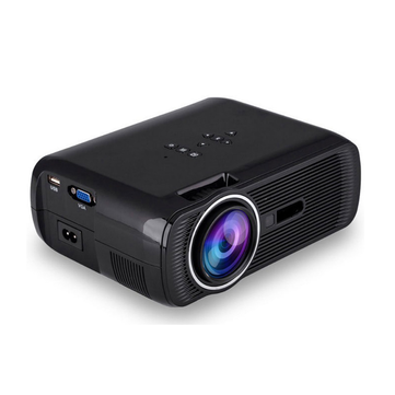 WZATCO CT80 Android 6.0 Projector 2200 Lumens 800x600P Wifi Smart Portable Mini LED 3D TV Support Full HD 1080p 4K Video Home Theater Projector