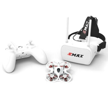 US$99.99 27% Emax Tinyhawk Indoor FPV Racing Drone BNF RTF F4 4in1 3A 15000KV 37CH 25mW 600TVL VTX 1S RC Toys & Hobbies from Toys Hobbies and Robot on banggood.com