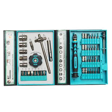 PENGGONG 8151B 47Pcs Screwdriver Tools Kit Repairing Maintenance Tools
