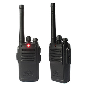 2PCS Lingyunzhi 1-100m Handheld Two Way Radio Walkie Kids Toy Walkie Talkie Set With Battery Screwdriver