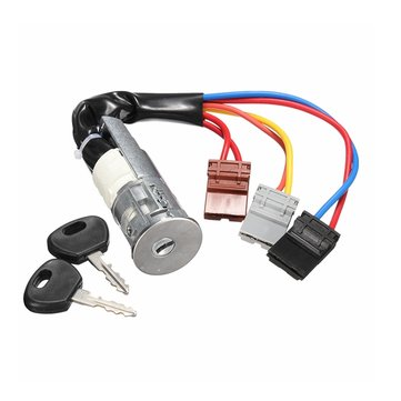 Car Ignition Lock Barrel Starter Switch And Keys For Peugeot /Citroen Berlingo 96-02