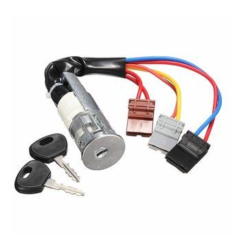 Car Ignition Lock Barrel Starter Switch And Keys For Peugeot /Citroen Berlingo 96-02