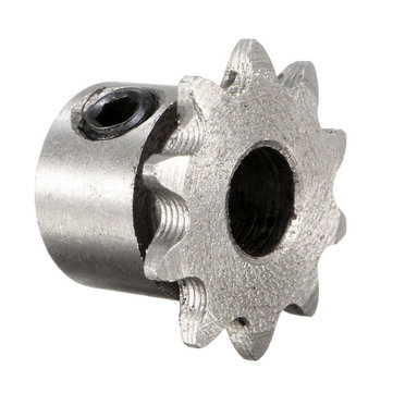 8mm Bore 10 Teeth Metal Gear Motor Roller Chain Drive Sprocket