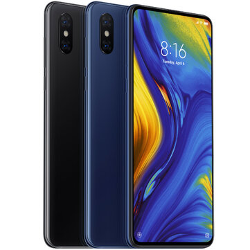 Xiaomi Mi MIX 3 Global Version 6.39 inch 6GB RAM 128GB ROM Snapdragon 845 Octa core Smartphone