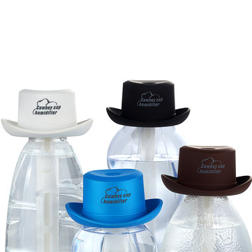 IPRee™ Mini Humidifier Cowboy Hat Shape Mineral Water Bottle USB Charging Atomization Outdoor Travel
