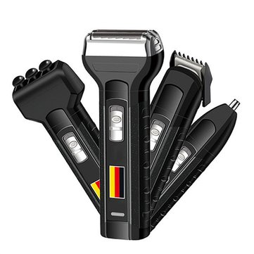 4 In 1 Electric Beard Shaver Hair Clipper Nose Hair Trimmer