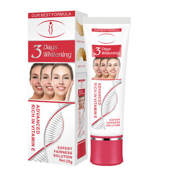 Vitamin E Face Whitening Cream for Dark Skin Bleaching Moisturizing Lotion 25g