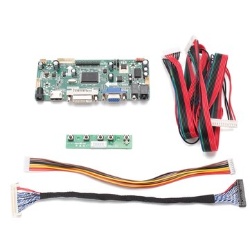 DIY LCD Controller Converter Board Screen Kit For LM240WU2-SLA1 Input Interface HDMI + DVI + VGA Pixel 1920*1200