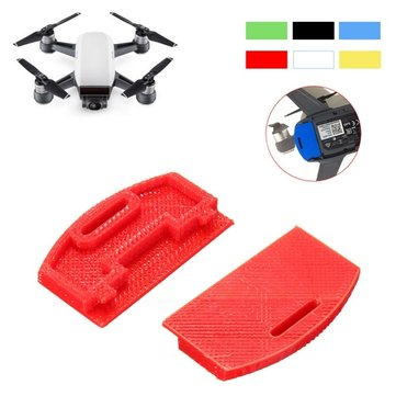3D Printed Body Charging Plug Shockproof Protector Dustproof Cover Guard Kit For DJI Spark Drone