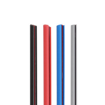 5m Black/Blue/Red/Grey Rubber Car Door Edge Protector Anti-Collision Strip Seal Trim Molding Guard