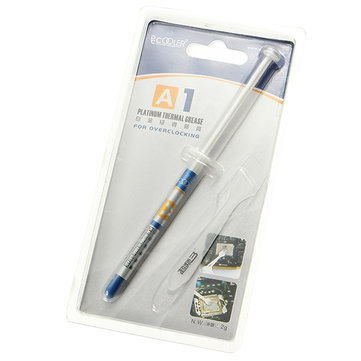 PcCooler A1 Thermal Grease Cooling for Overlocking Containing 25 Percent Silver Thermal Grease Cooling Equipment