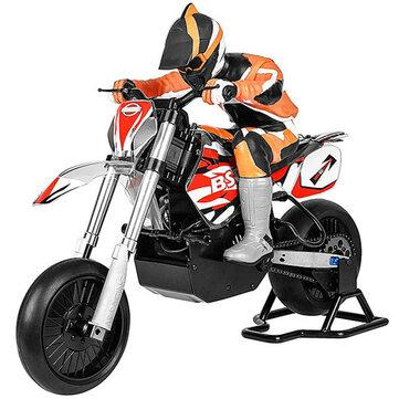 Original BSDRacing404T1/42.4G4WD 60 km / h Sin escobillas Rc Moto Modelo eléctrico en carretera Coche
