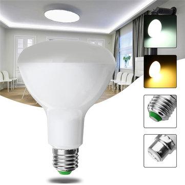 E27 B22 10W 5730 SMD純粋な白暖かい白いライトコントロールLED電球家庭電灯AC85-265V