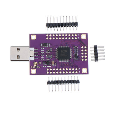 CJMCU-4232 FT4232HL USB to RS232/RS485/RS422/UART/JTAG/SPI/I2C Serial Module Board