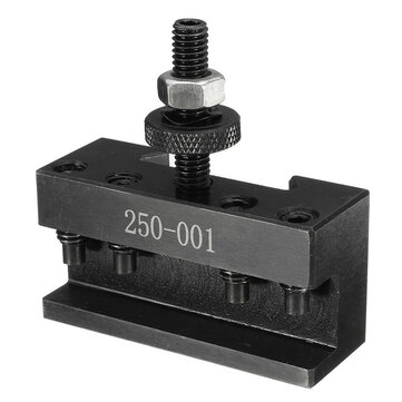 250-001 Quick Change Tool Post Turning Facing Holder Lathes Kit