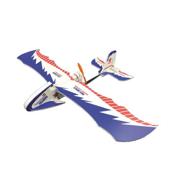 43cm Wingspan RC Glider Airplane Fixed Wing RTF with Remote Control Mode1/Mode 2