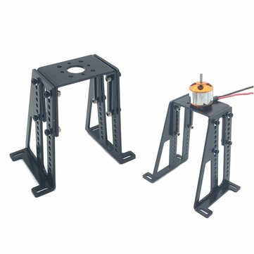 CNC Aluminum Adjustable Motor Holder Mount For Changing Oil Airplane To Electric Airplane