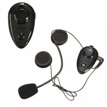 2pcs A2DP 500m BT Interphone Motorcycle Helmet Intercom Headset Kit With Bluetooth 3.0 Function