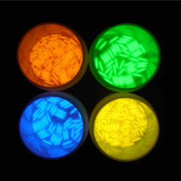 1pcs 1.5x6mm Trit Vials Tritium Multicolor Self-luminous 15-Years
