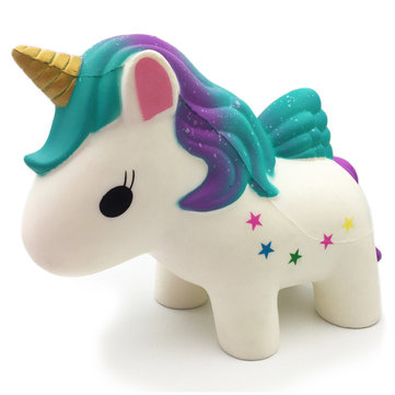 Huge Squishy Unicorn Horse 30CM Giant Humongous Animal Jumbo Slow Rising Collection Soft Toys