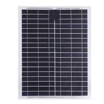 20W 12V Poly Flexible Poly Solar Panel Battery Charger Phone Charger For RV Boat