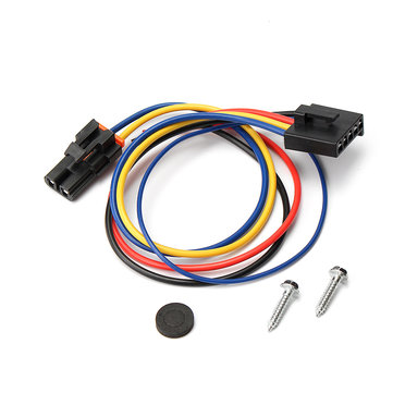 5 Wire Pigtail 2 Head Blower Motor Resistor Harness for buick Cadilac Chevy Gmc