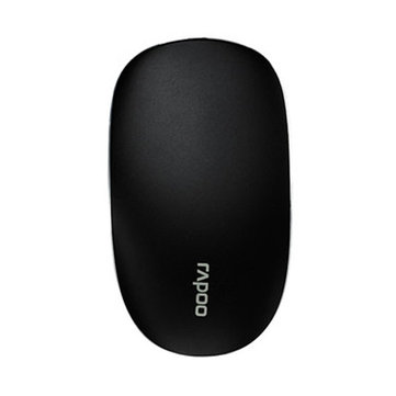 RAPOO T8 USB Wireless 5.8GHz Ultra Thin Laser Touch Mouse Durable Computer Mouse Slient Clicking