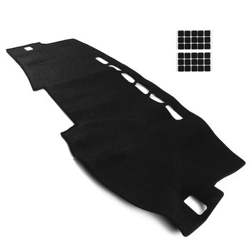 Polyester Non-Slip Car Dash Mat Dashboard Cover Pad Sunshade Dashmat for Toyota Corolla 2007 - 2012