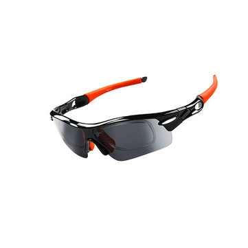 OBAOLAY Riding Glasses Outdoor Polarized Cycling Sunglasses Set
