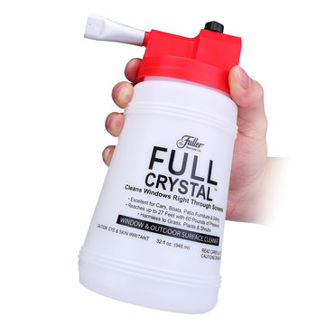 Handheld Glass Spray Cleaner Outdoor Window FullCrystal Home Garden Cleaning Tool