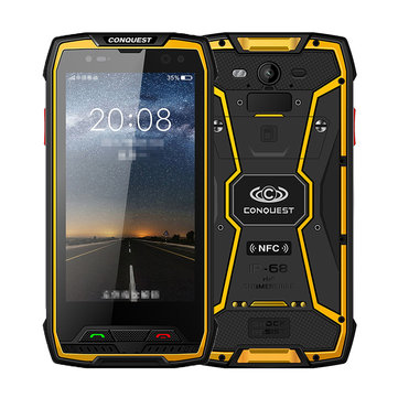 CONQUEST S11 IP68 Waterproof 5.0 inch 6GB RAM 64GB ROM MTK6757 Octa Core 2.6GHz 4G Smartphone