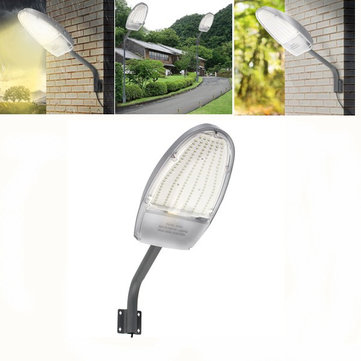 24W Radar Sensor LED Road Street Flood Light Outdoor Garden Spot Security Lamp AC85-265V