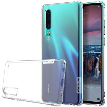Nillkin transparente à prova de choque macio TPU capa protetora capa para casos Huawei P30 e couro de Telefones móveis & Banggood na Banggood.com