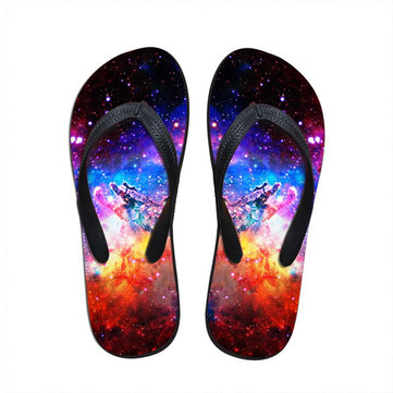 Buy Unisex 3D Flip Flop Comfortable Outdoor Home Beach Casual Breathable Slipper Shoes for $26.22 in Banggood store