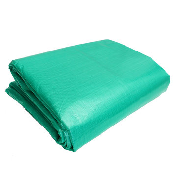 PE 6×3.6m/19.7×11.8ft Outdoor Waterproof Camping Tarpaulin Field Camp Tent Cover Car Cover Canopy