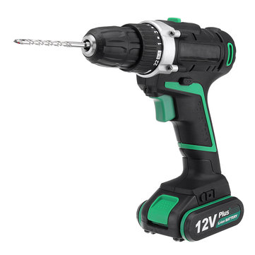 AC100-240V Electric Screwdriver Cordless Power Drill Tools Dual Speed/ Impact With Accessories