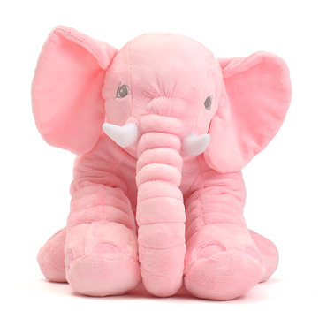 45x23x53 cm Pink Large Elephant Pillows Cushion Baby Plush Toy Stuffed Animal Kids Gift