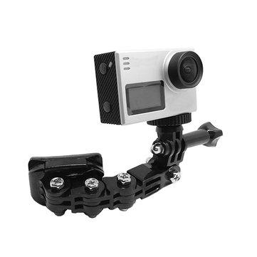 Helmet Jaw Adjustable Arm Mount Holder For Action Sport Camera