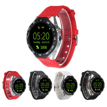 1.39 inch Bluetooth Wifi 3G GPS SMS Core Android 5.1 Smart Watch with Camera