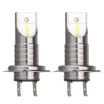2Pcs H7 55W 26000LM 6000K Car LED Headlights Bulb White Fog Lamp IP68 Waterproof