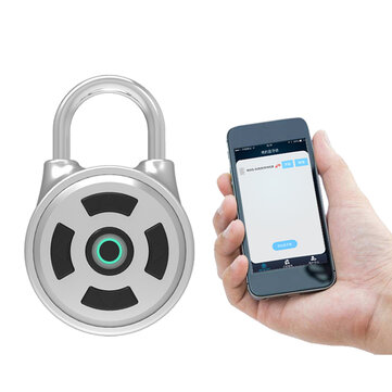 APP Intelligent Password Lock For Android iOS System Password Unlock Anti-Theft Security Padlock