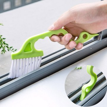 Buy Multi-function Window Groove Cleaning Brush Keyboard Nook Cranny Dust Shovel Window Track Cleaning Tools for $2.49 in Banggood store