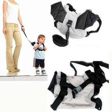 Kid Safety Harness Backstrap Bat Bag Anti Lost Walking Wings
