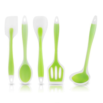 KCASA KC-SD26 5Pcs Set Kitchen Cooking Utensil Heat Resistant Spoon Turner Spatula Soup Ladle