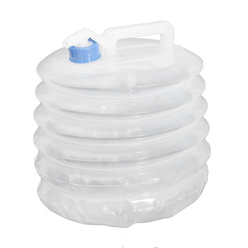 3L/5L/10L Portable PE Folding Drinking Water Bag Container Outdoor Sports Bike Water Bottle